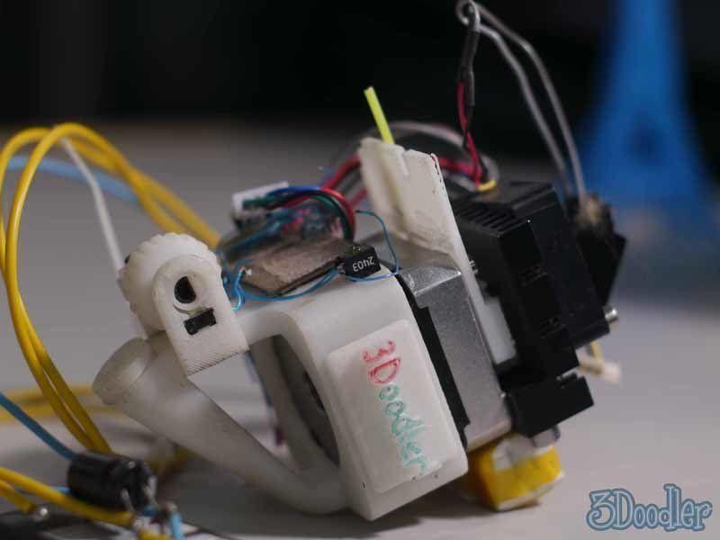 The original mechanism for the 3Doodler.