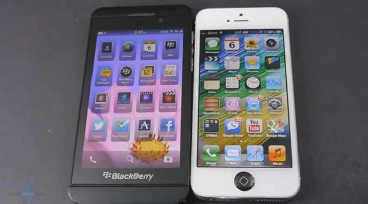Tech Site Says BlackBerry Z10 Beats iPhone 5 In One Key Area   HuffPost