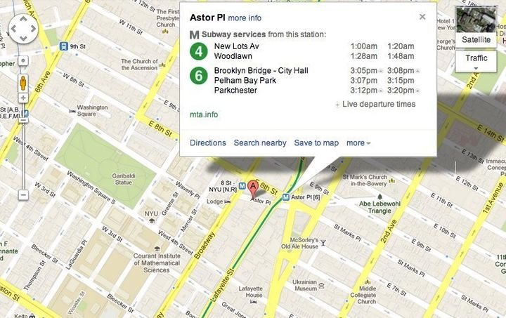 1 Train Nyc Map.Google Maps Adds Real Time Train Updates For New York City Subways