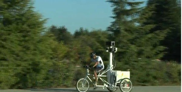 Google Maps Trike: New 'Street View' Bike Will Map Your Mall