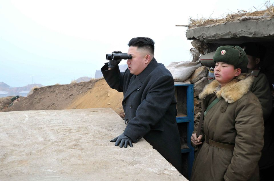 Six months after invading North Korean forces started the Korean War, North Korean leader and founder Kim Il Sung says in a s