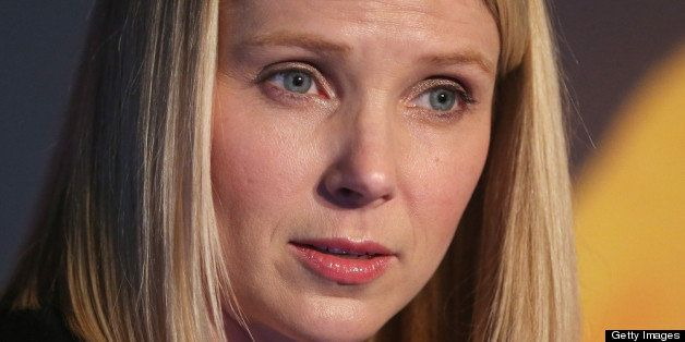 NEW YORK, NY - MAY 20:  Yahoo! CEO Marissa Mayer attends a news conference following the company's acquisition of Tumblr at a