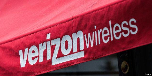 NEW YORK, NY - JUNE 06:  A Verizon Store is seen on June 6, 2013 in the SoHo neighborhood of New York City. News leaked yeste