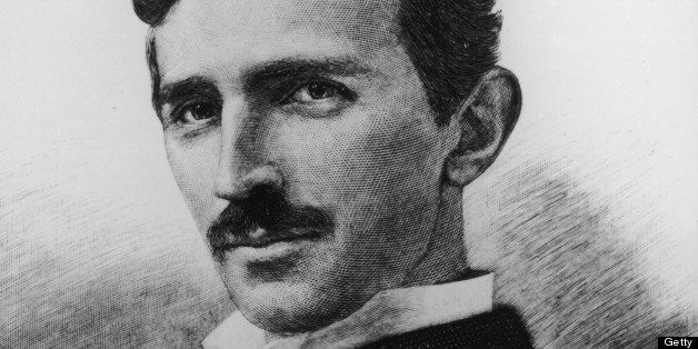 circa 1900:  Headshot portrait of Yugoslavian-born physicist and electrical engineer, Nikola Tesla.  (Photo by Hulton Archive