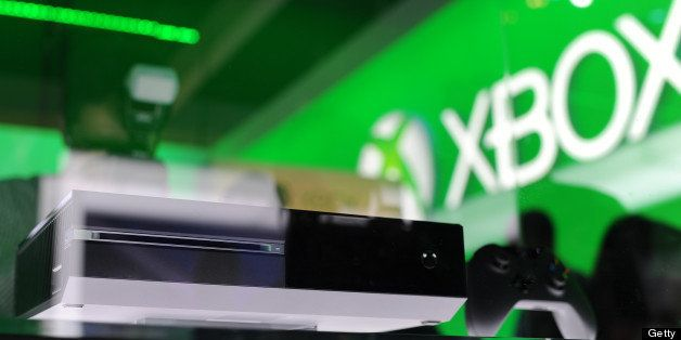 The Xbox One console is displayed on the final day of the E3 Electronic Entertainment Expo, in Los Angeles, California June 1