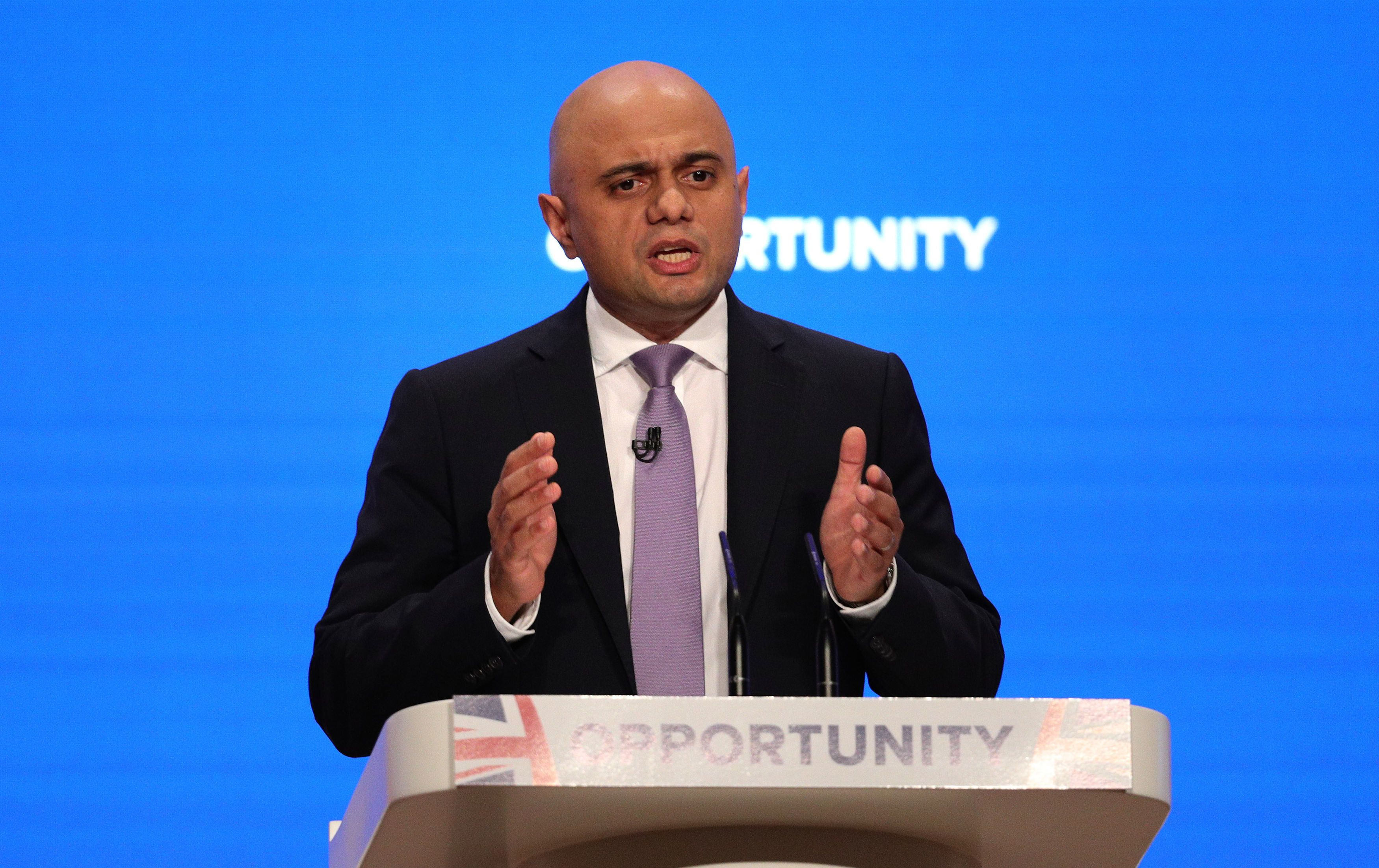 How Sajid Javid Got A Room Full Of Tories To Applaud A Veteran Labour