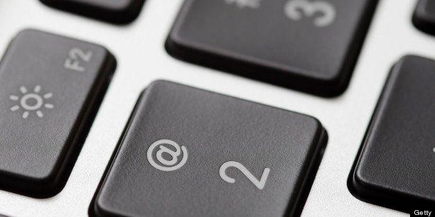 Laptop close-up.