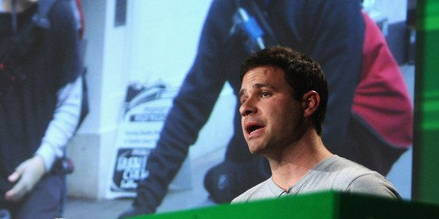 SAN FRANCISCO, CA - SEPTEMBER 13: Postmates CEO and Co-Founder Bastian Lehmann speaks onstage at Day...