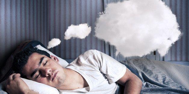 man comfortably sleeping in his ...