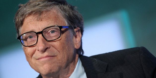 Microsoft co-founder Bill Gates attends the Clinton Global Initiative during the Clinton Global Initiative (CGI) on September