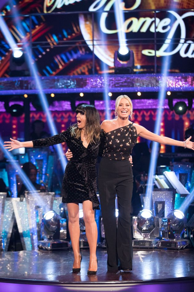 Claudia Winkleman and Tess Daly will be at the helm of Strictly's Movie
