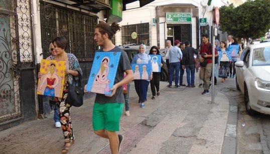 Une nouvelle exposition ambulante de Souad Douibi à