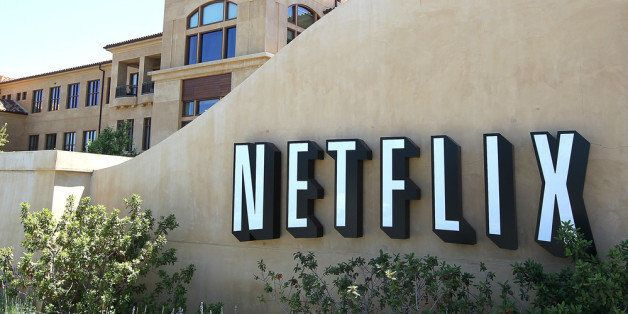 LOS GATOS, CA - JULY 20:  A sign is posted in front of the Netflix headquarters on July 20, 2011 in Los Gatos, California.  O