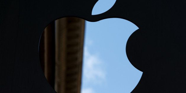 FILE PHOTO: The Apple Inc. logo sits on display outside the company's store in Amsterdam, Netherlands, on Monday Sept. 16, 20