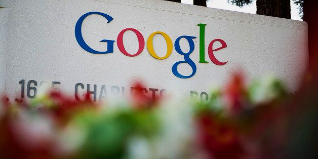 Google Inc. signage is displayed in front of the company's headquarters in Mountain View, California, U.S., on Friday, Sept.