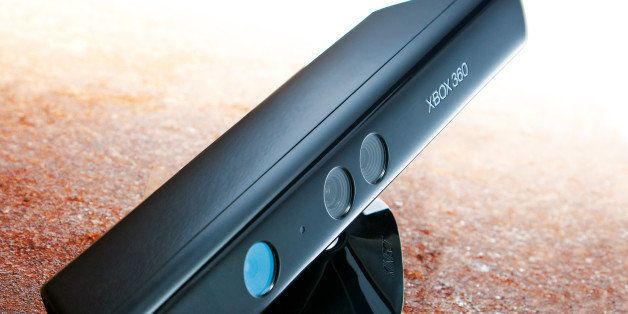 A Microsoft XBox 360 Kinect, photographed during a studio shoot for Official Windows Magazine, February 9, 2012. (Photo by Jo