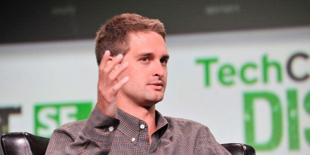 SAN FRANCISCO, CA - SEPTEMBER 09: Evan Spiegel of Snapchat attends TechCruch Disrupt SF 2013 at San Francisco Design Center o