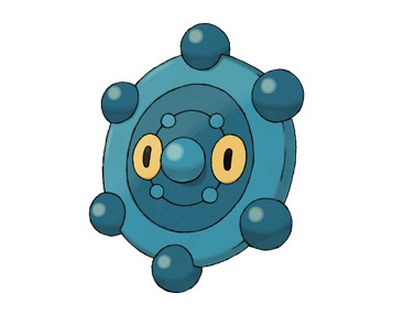 <br>Type: Steel, Psychic <br>Skill: The patterns on their backs are said to contain a mysterious power <br>The Pokedex says t