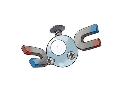 <br>Type: Electric, Steel <br>Skill: Born with the ability to defy gravity; magnetism. <br>Another powerful Pokemon, Magnemit