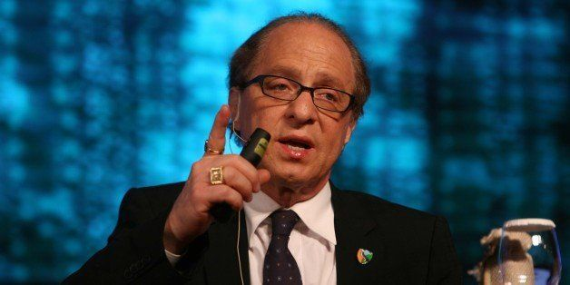 NEW DELHI, INDIA - MARCH 17: Ray Kurzweil Inventor, author, futurist speaks at the India Today Conclave 2012 in New Delhi on