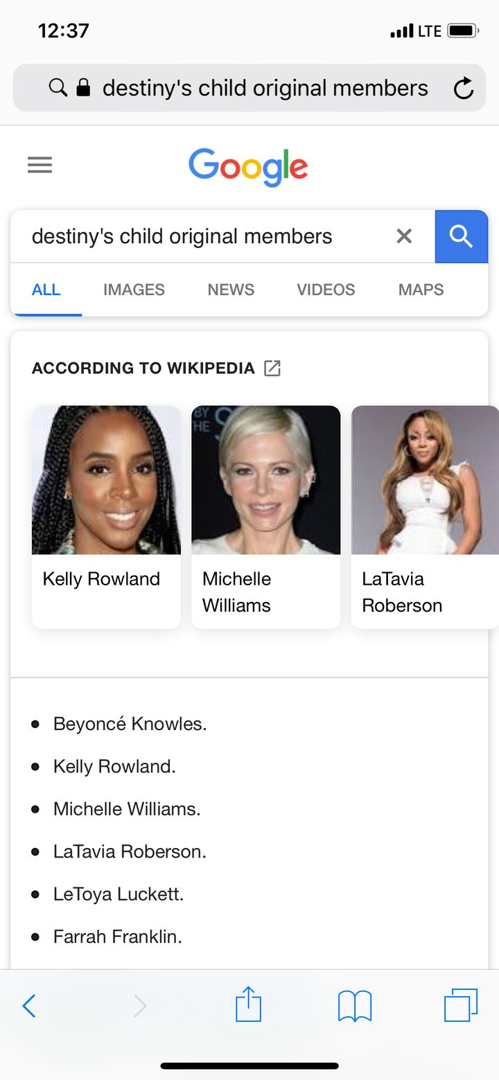 The Other Michelle Williams Is Honored Google Thinks She's ...
