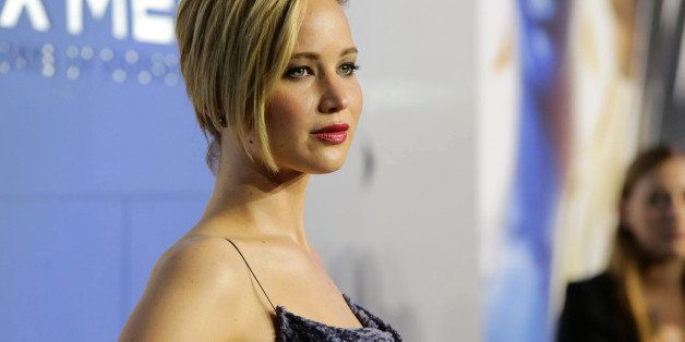 Jennifer Lawrence seen at the Twentieth Century Fox Global Premiere of 'X-Men: Days of Future Past' held at the Jacob K. Javi