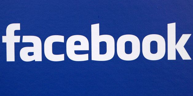 ** FILE **  The Facebook logo is displayed at a news conference in New York in this November 6, 2007 file photo. A new applic