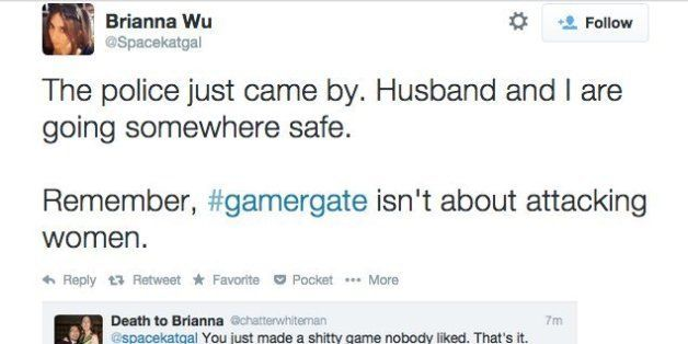 Female game dev forced to flee home after horrific threats