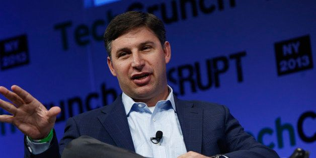 NEW YORK, NY - MAY 01:  Anthony Noto of Goldman Sachs speaks onstage at TechCrunch Disrupt NY 2013 at The Manhattan Center on