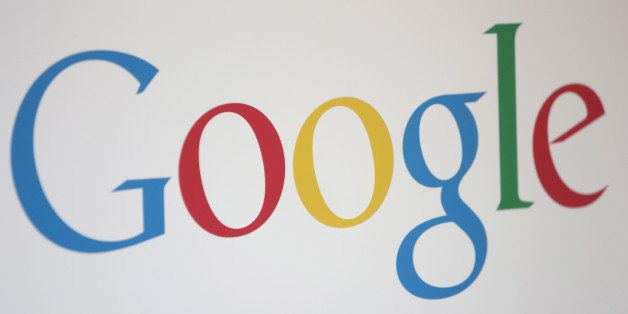 BERLIN, GERMANY - AUGUST 21:  The Google logo is seen at the company's offices on August 21, 2014 in Berlin, Germany. Google