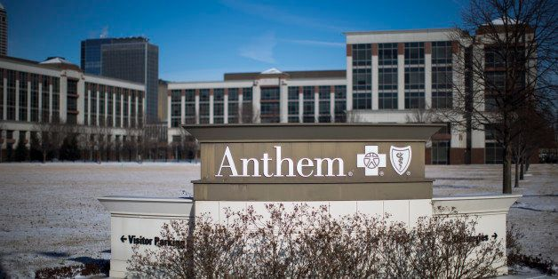 INDIANAPOLIS, IN - FEBRUARY 5: An exterior view of an Anthem Health Insurance facility on February 5, 2015 in Indianapolis, I