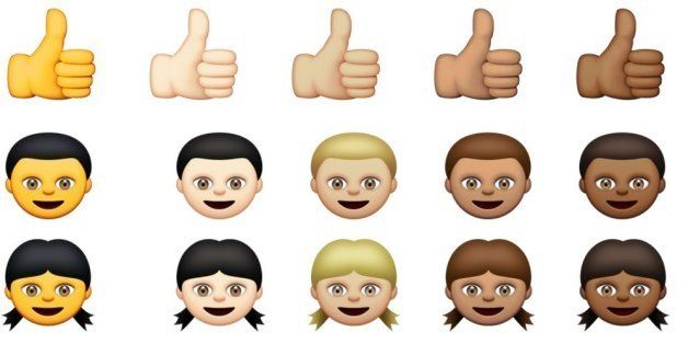 This Is Why Some Of Apple's New Emoji People Are Yellow