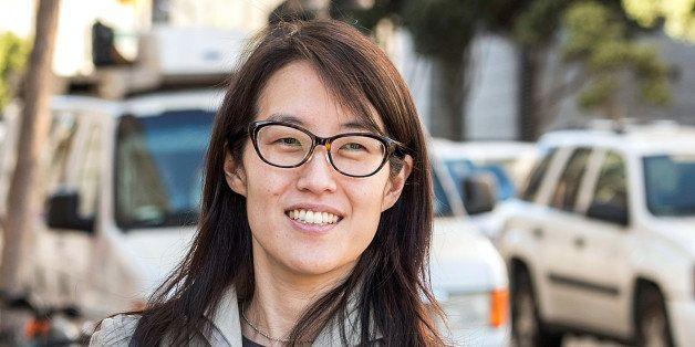 Ellen Pao, former junior partner at Kleiner Perkins Caufield & Byers, exits state court in San Francisco, California, U.S., o
