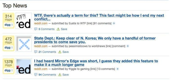 Angry Users SLAM Digg With Links From Rival Reddit | HuffPost