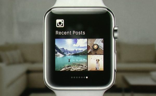 That's right, Instagram is on Apple Watch. This skimmed down version of the full app lets you browse through images, like pos