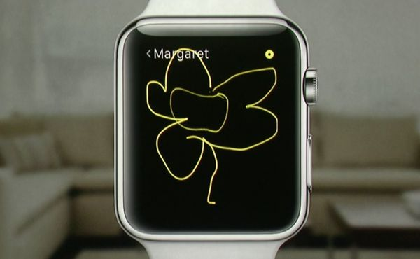 Contact over the Apple Watch couldn't be simpler. You'll be able to draw shapes, send emojis and even send your heartbeat.