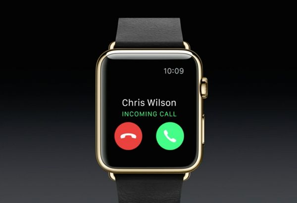 Using the Apple Watch's built-in speaker you can make, and answer phone calls without ever having to pick up your iPhone.