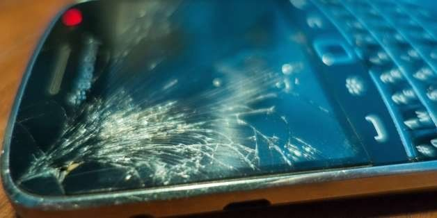 For a variety of reasons people with cracked Blackberry or Smartphone screens continue to use them if...