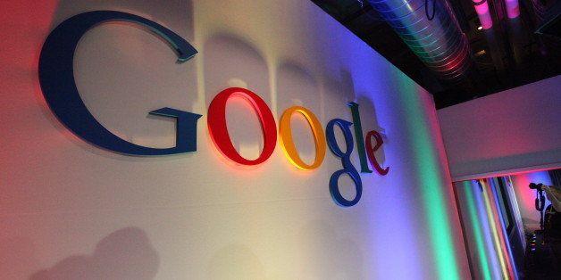 Google Logo in Building43.