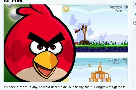 angry birds free download for android