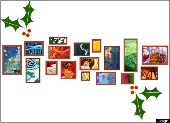 Holiday Google Doodle: Today's Logo Took 250 Hours To Make (PICTURES