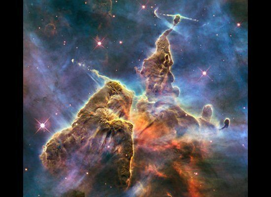 Image captured by Hubble Telescope.