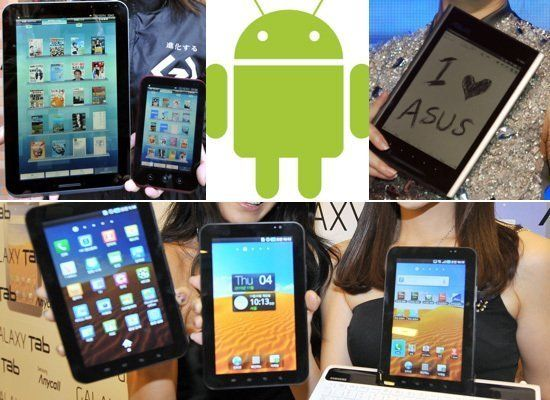 "A new crop of powerful Android tablets could steal the limelight at CES, thanks to the <a href=""http://www.pcmag.com/article2"