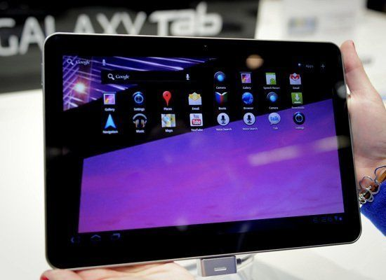 Samsung came out swinging with the follow-up to its well-received Galaxy Tab. The 10.1-inch slate will be powered by Google's