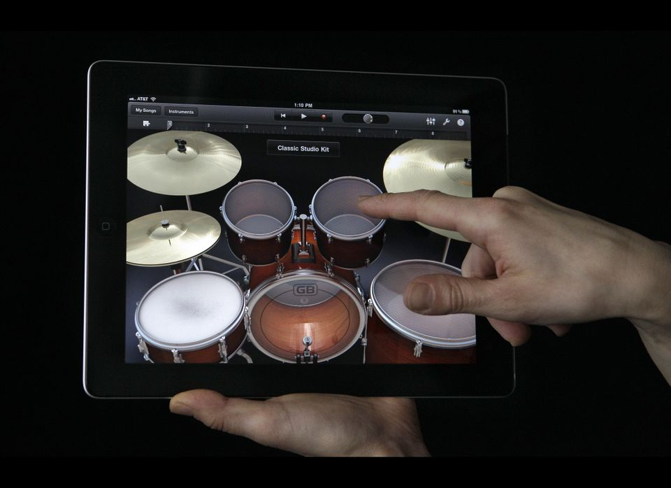 """Engadget's Joshua Topolsky raved about the device. """"[T]he iPad 2 isn't just the best tablet on the market, it feels like the"""