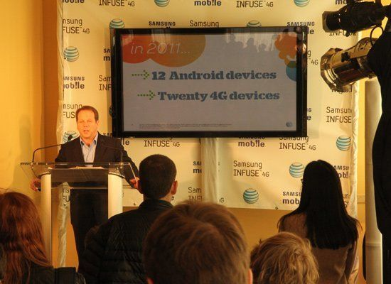 Samsung Infuse 4G Price, Specs Announced (PHOTOS) | HuffPost