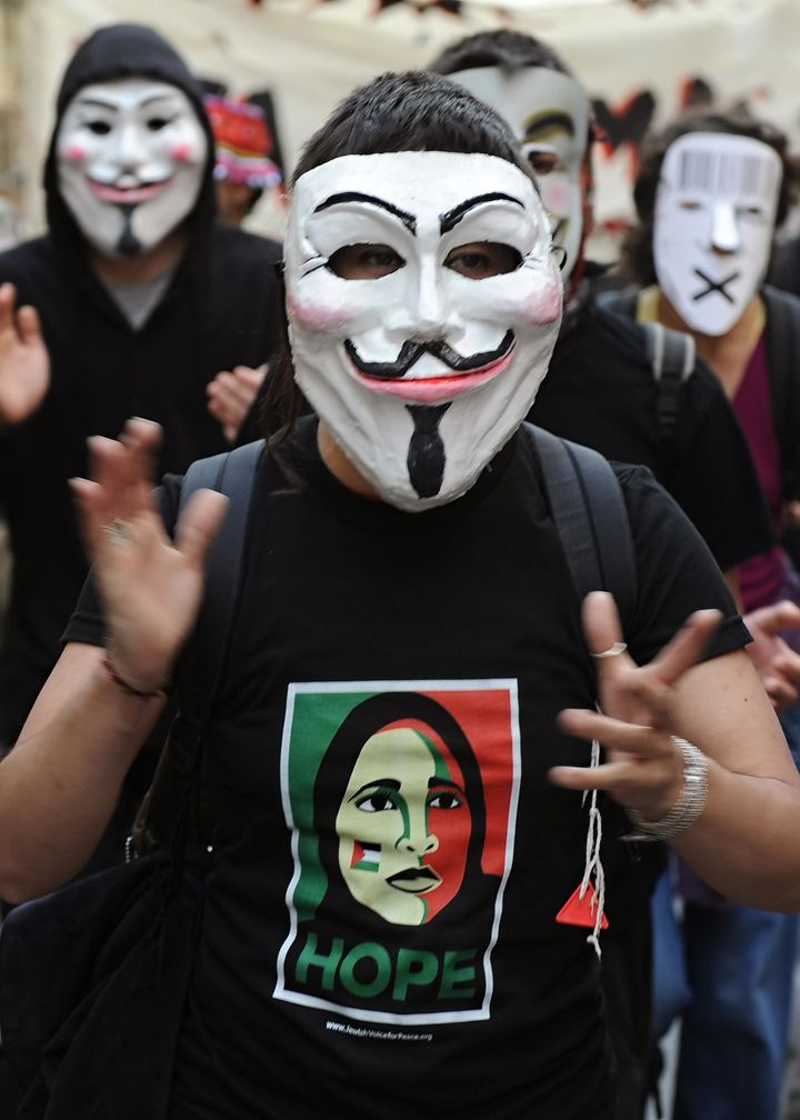 Giving A Face To 'Anonymous': A Meeting With A Member Of The