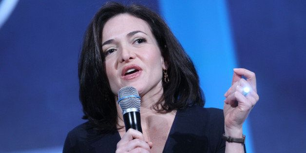 Sheryl Sandberg, chief operating officer of Facebook Inc., speaks during the annual meeting of the Clinton Global Initiative