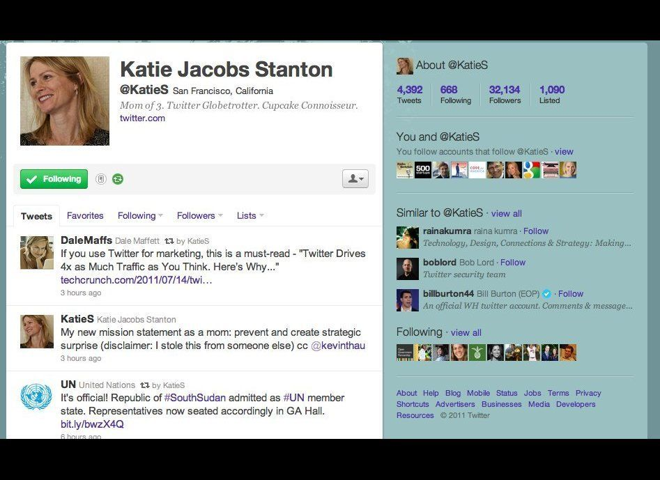 Katie Jacobs Stanton is head of international strategy at Twitter. She has played an essential role in advocating the use of