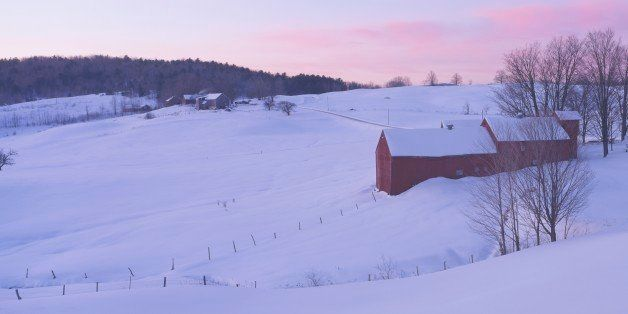 'Jenny Farm, South of Woodstock, Vermont'